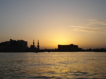Port Said am Mittelmeer