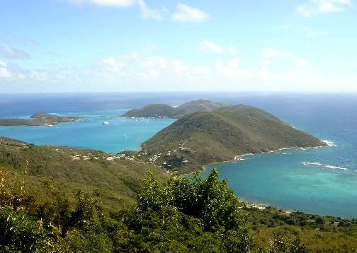 North Sound von Virgin Gorda